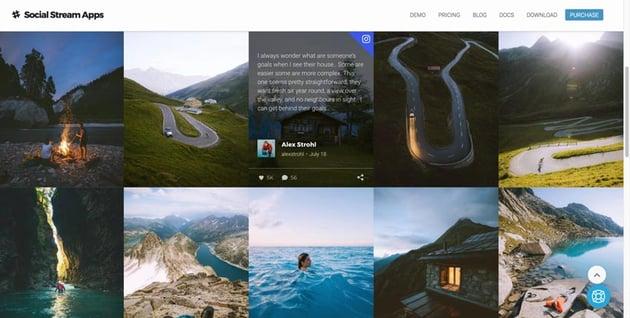 Flow-Flow WordPress Social Stream Plugin
