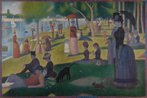 Georges Seurat A Sunday on La Grande Jatte