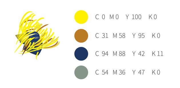 How to Draw Vector Chinese Flowers Stamen Palette