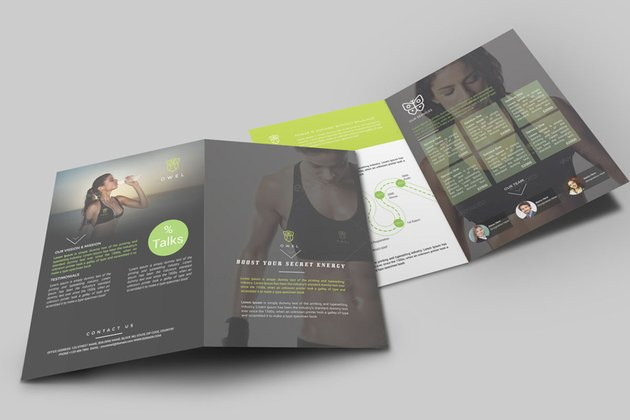InDesign brochure template on Envato Elements