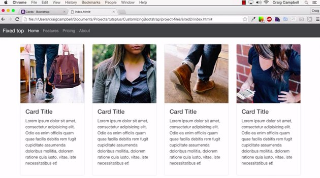 Customizing Bootstrap Components