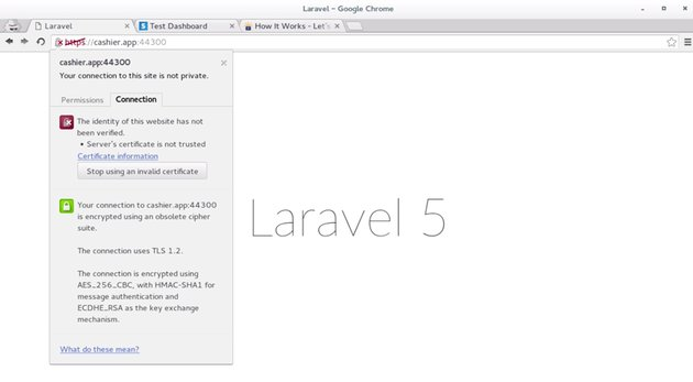 Screenshot from course on Processing Payments With Stripe and Laravel Cashier