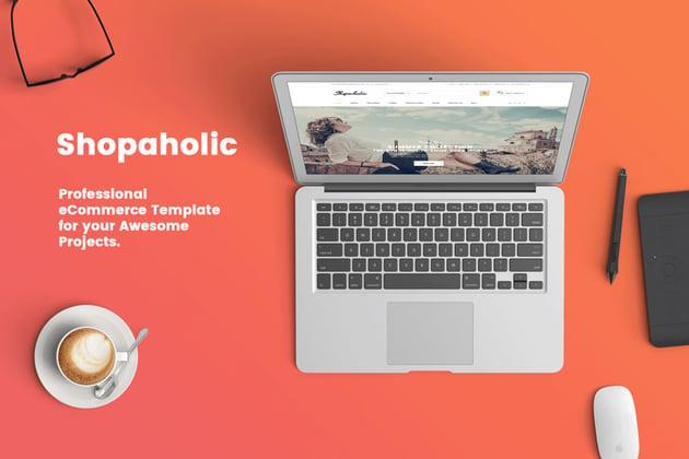 Shopaholic - Responsive Multipurpose ECommerce Template