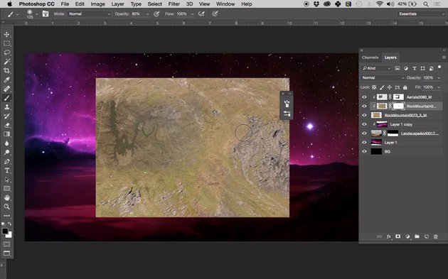 Creating the planets texture