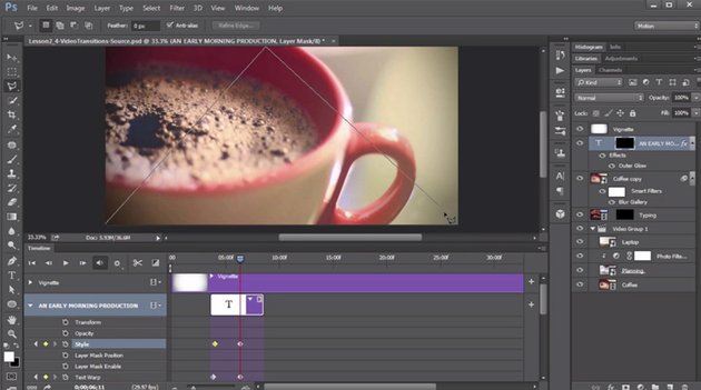 Creating a lower third in Photoshop