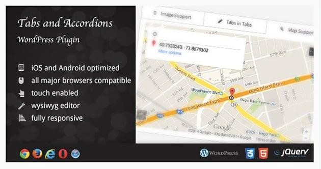 WordPress Tabs and Accordions