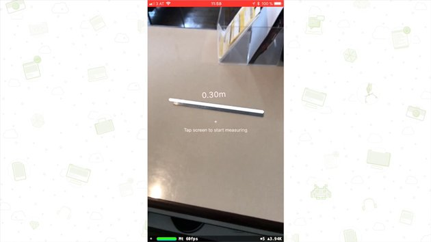 Augmented Reailty measurement app