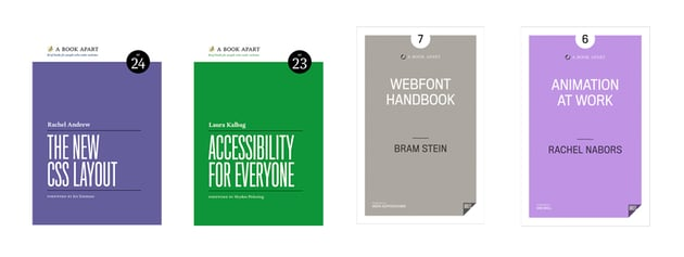 New eBooks from A Book Apart