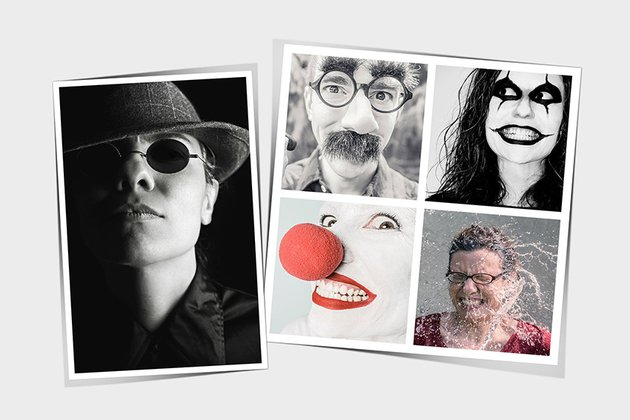 Collage Photo Template