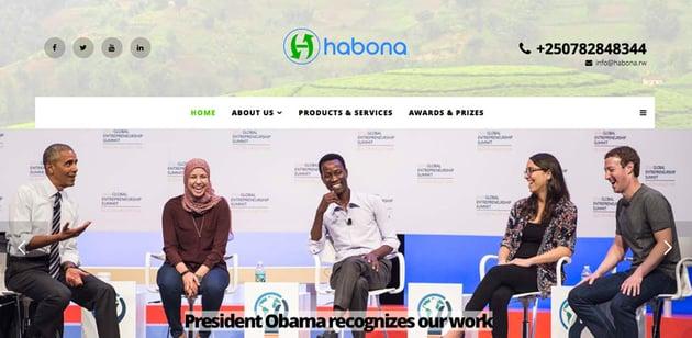Jean Bosco Nzeyimana of Habona