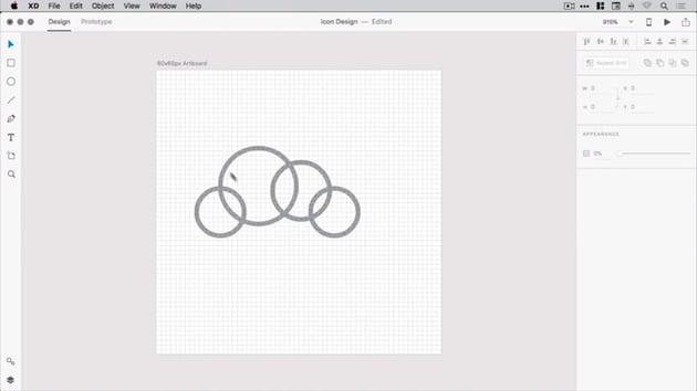 Adding a fourth circle