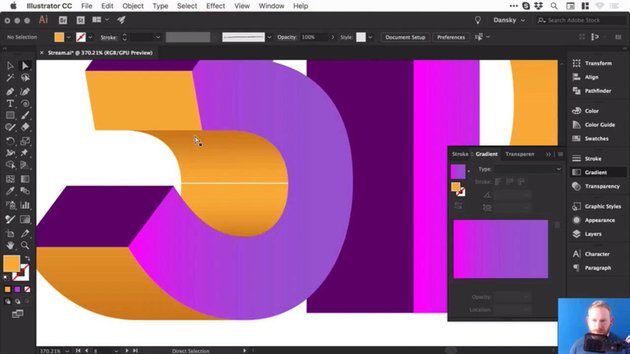 Creating 3D objects in Adobe Illustrator