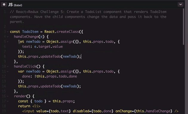 onChange handler code