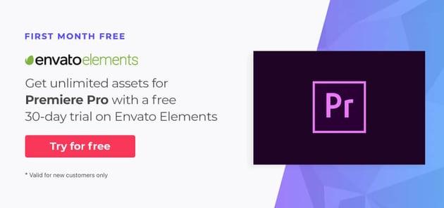 Premiere Pro assets on Envato Elements