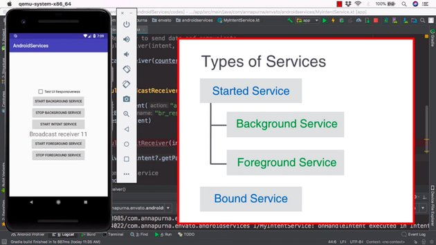 Kotlin Android Services