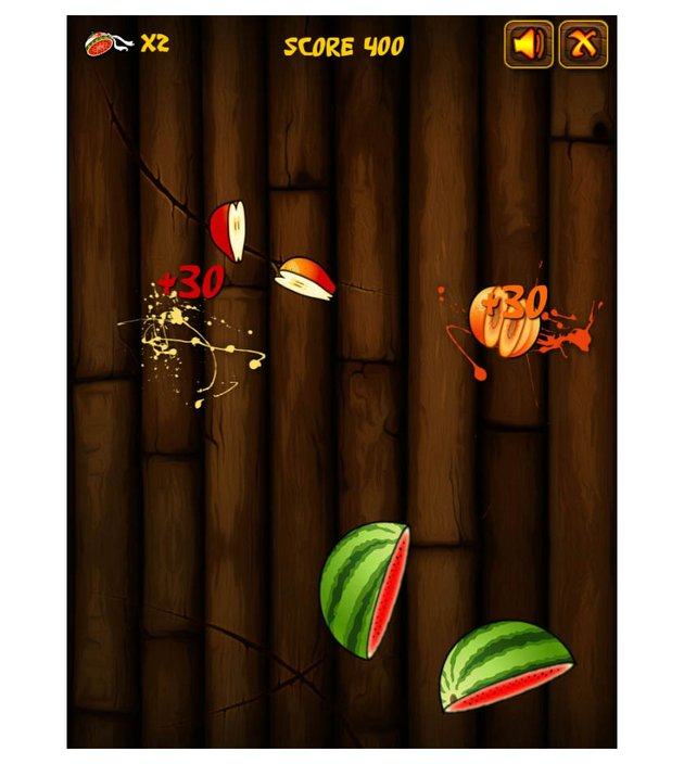 Katana Fruits JavaScript Game Template