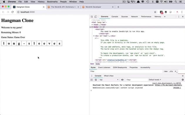 React app built in Practical React Fundamentals course