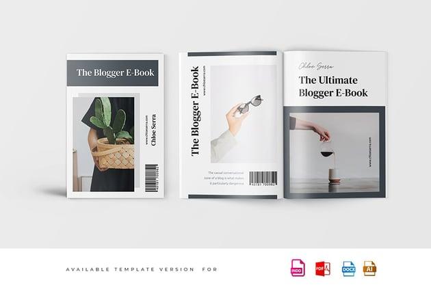 Minimalist eBook Template