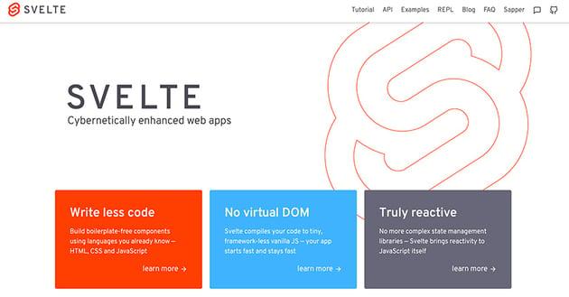 Svelte website