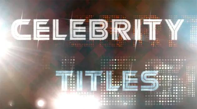 Celebrity Titles
