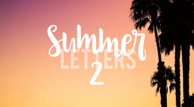 Summer Letters 2
