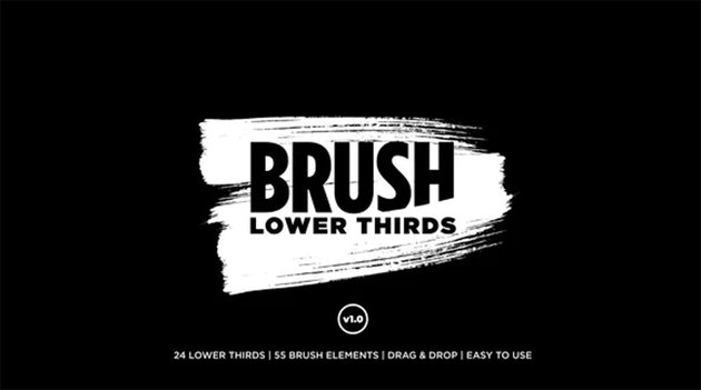 Brush Lower Thirds