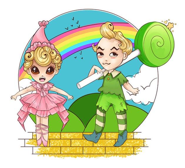Chibi Lollipop and Lullaby Munchkin