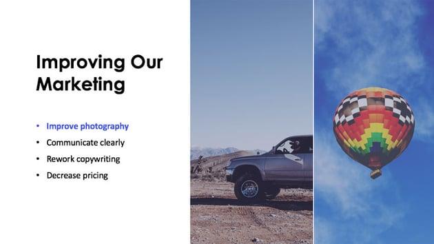 Shortening Text in Our PowerPoint Slide Design
