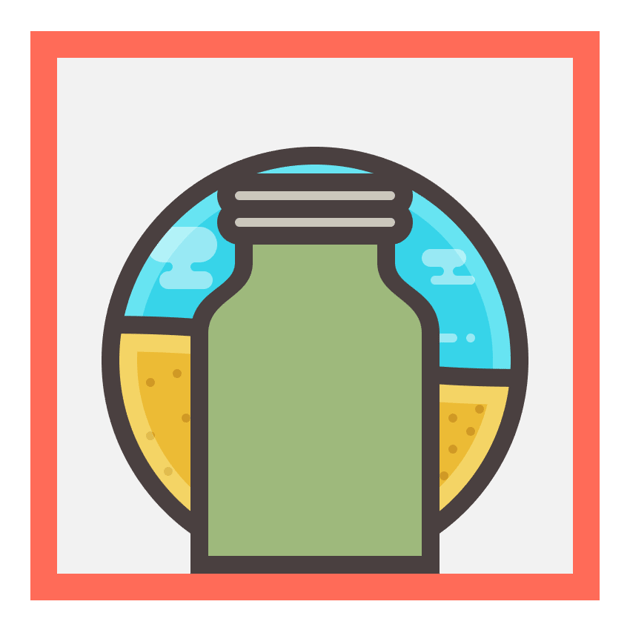 adding the second ridge segment to the jar