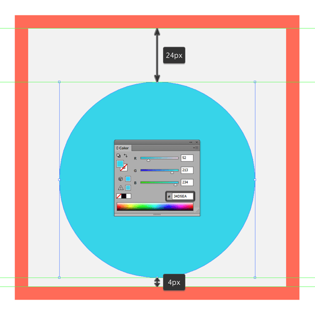 creating the main shape for the default background