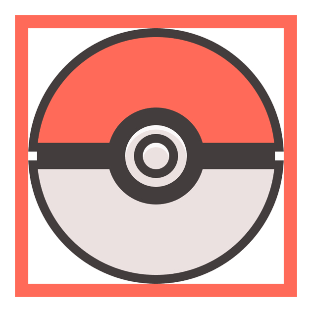 adding the highlight to the poke balls button