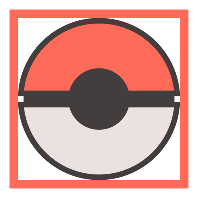 creating the small insertion holding the poke ball button