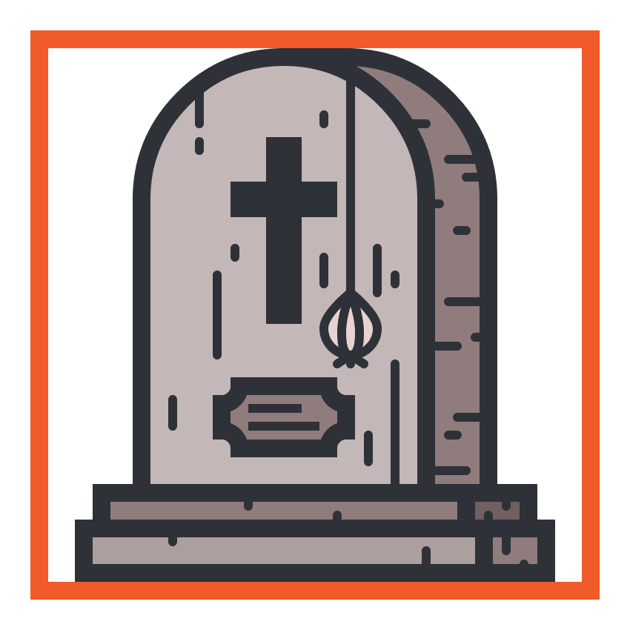 grave icon finished