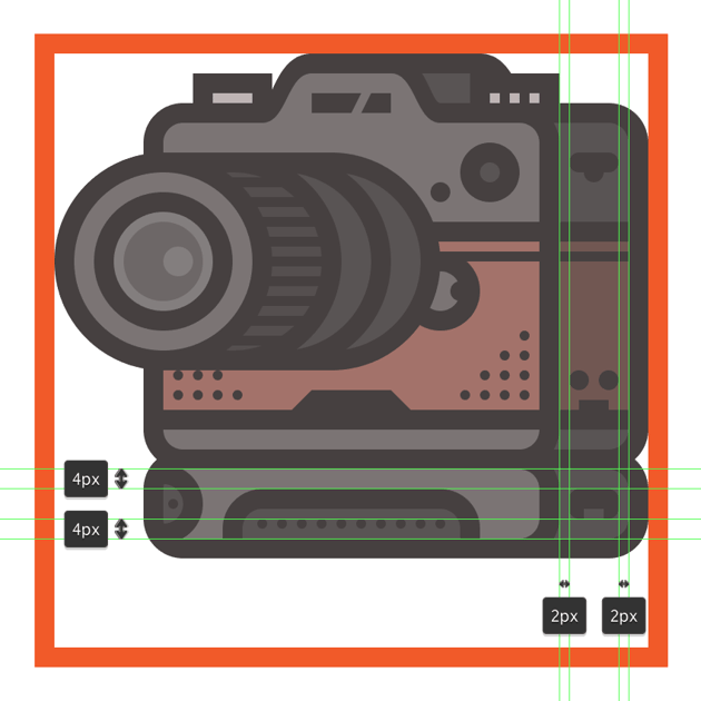 adding the io connector to the cameras add-on grip
