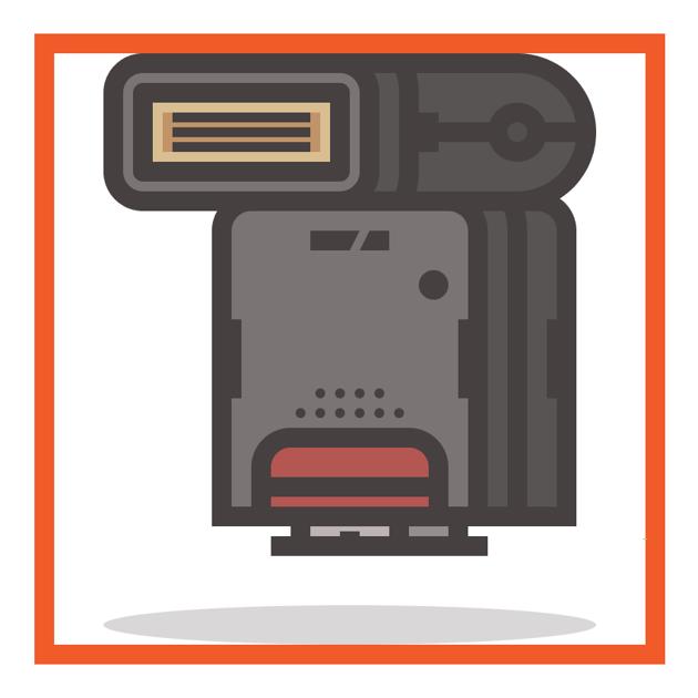 flash icon finished
