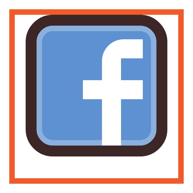 adjusting the top left corner of the facebook icons letter