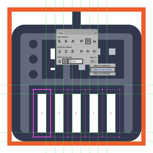 adding the midi controller icons remaining keys