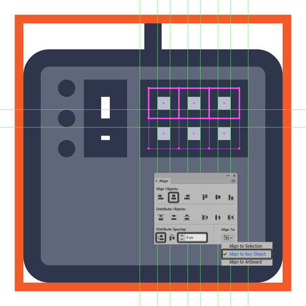 adding the second row of d pads to the midi controller icon