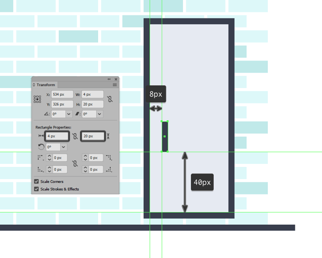 adding the handle to the refrigerators right door