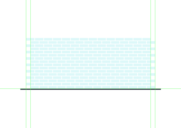 adding the remaining rows of tiles to the background