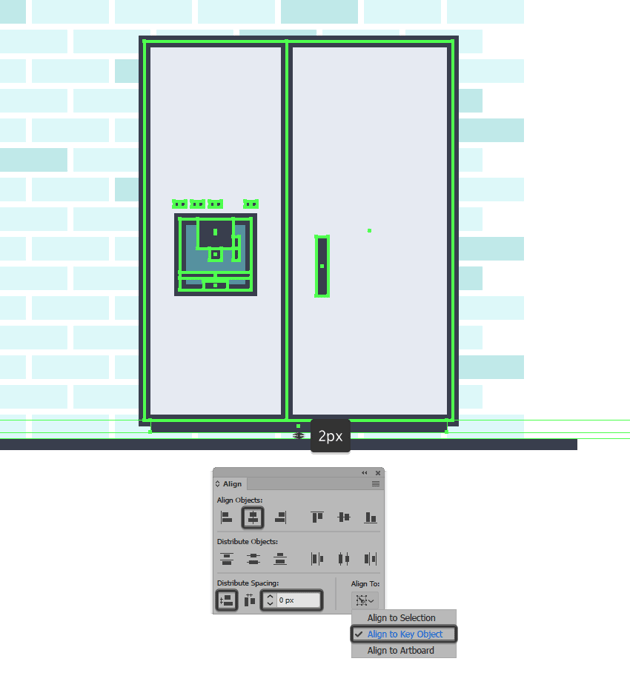 creating the main shape for the refrigerators bottom section