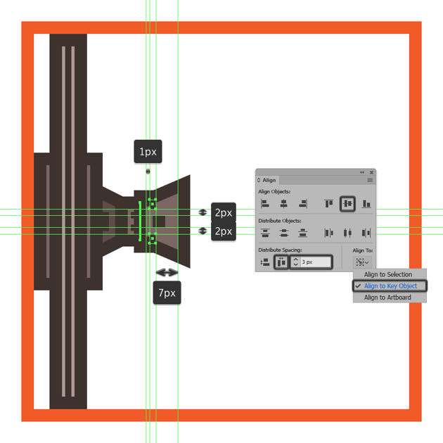 adding vertical insertions to the tie fighters left wing pylon