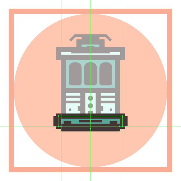 adding the bottom detail rectangle to the trams front bumper