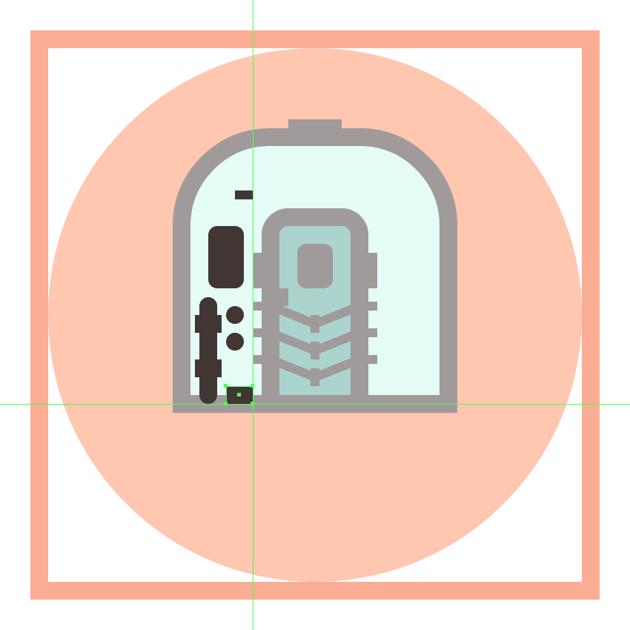adding the bottom rectangular insertion to the trains main body