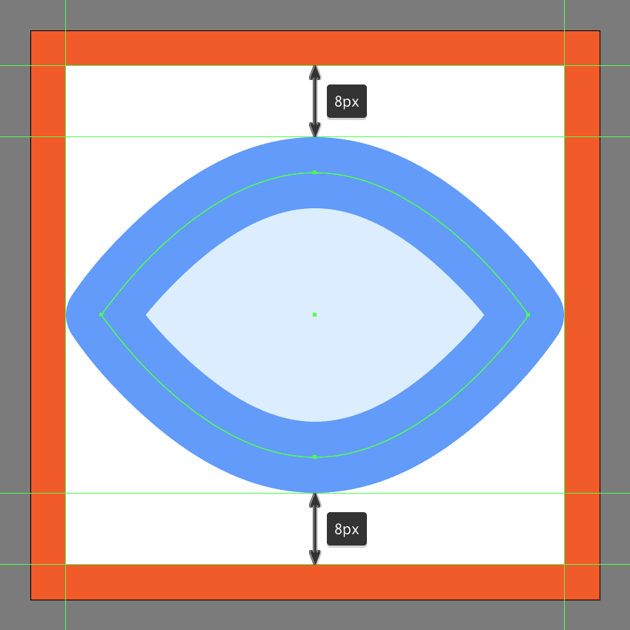 adding the outline to the toggle on visibility button