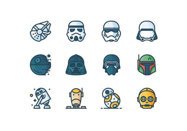 line icons by Justas Galaburda