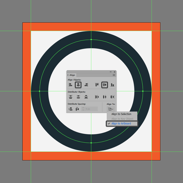 creating and positioning the main shape for the record button