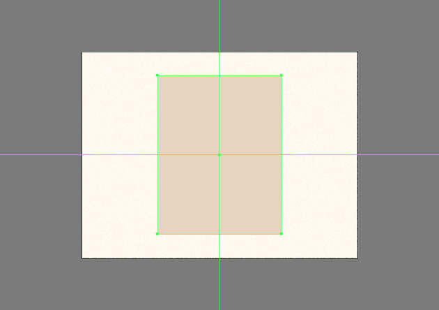 creating the bottom polaroid