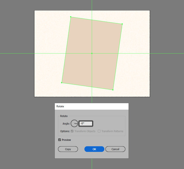 rotating the bottom polaroid