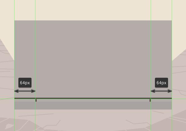 adding the bottom vertical insertion segments